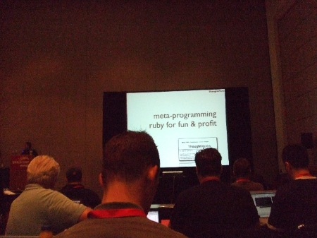 RailsConf day 1 - metaprogramming tutorial