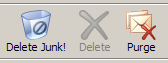 Thunderbird Purge and Delete Junk! buttons